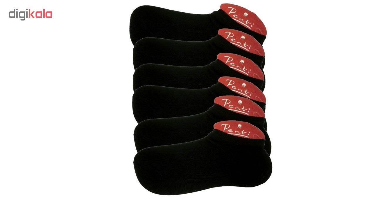 جوراب مردانه کد 951 بسته 6 عددی main 1 1