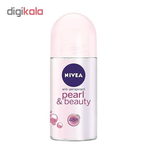 رول ضد تعریق زنانه نیوآ مدل Pearl And Beauty حجم 50 میلی لیتر
