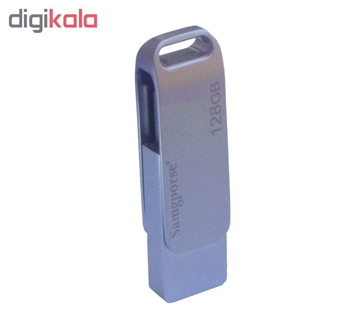 فلش مموری سمگپرس مدل SW12 ظرفیت 128 گیگابایت  Samgporse SW12 Flash Memory - 128GB