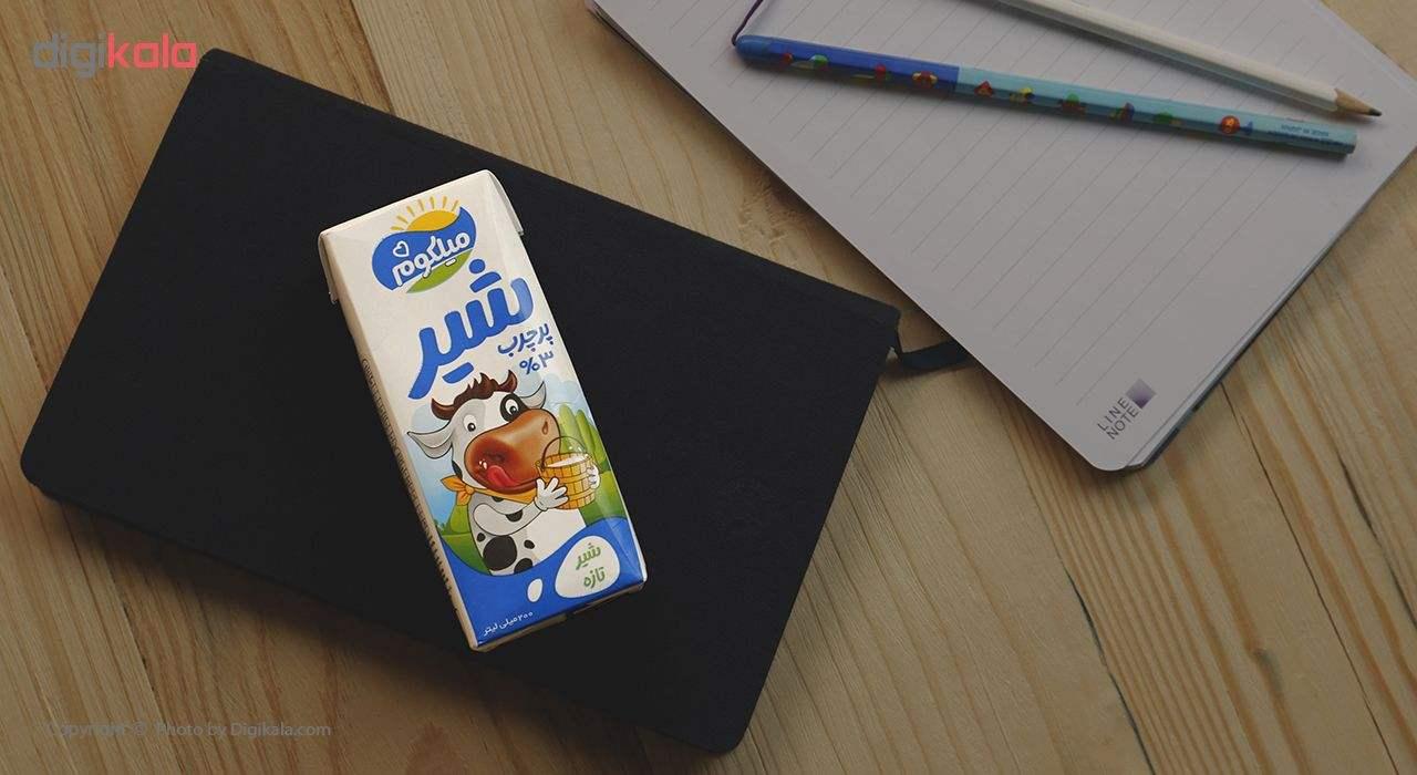 شیر پر چرب میهن مدل میلکوم حجم 200 میلی لیتر