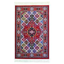 فرش ماشینی کد 118 زمینه لاکی