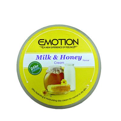 کرم مرطوب کننده ایموشن مدل Milk & Honey حجم 250 میلی لیتر