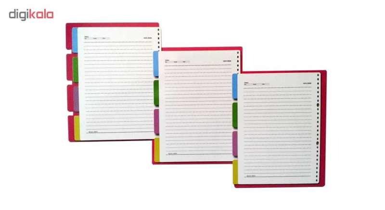 کاغذ کلاسور کد 115 بسته 100 عددی main 1 1