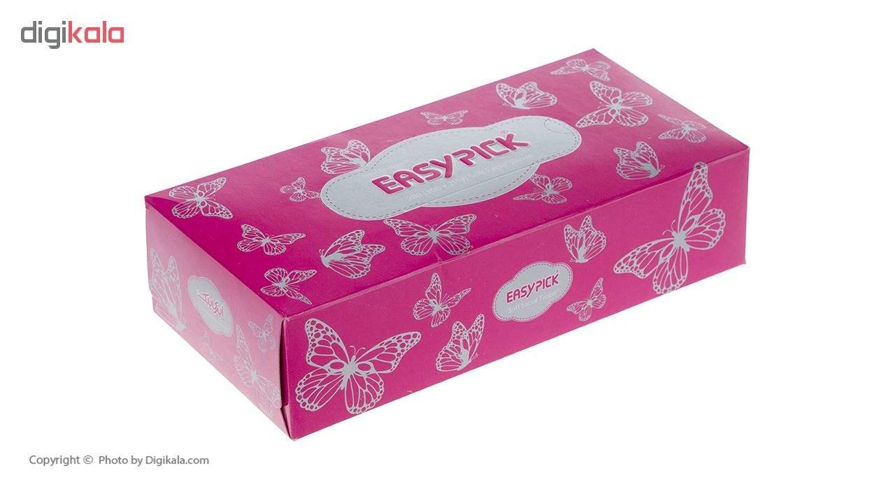 دستمال کاغذی 100 برگ ایزی پیک مدل Butterfly بسته 4 عددی main 1 6