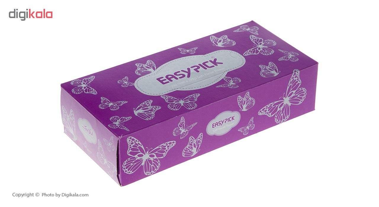 دستمال کاغذی 100 برگ ایزی پیک مدل Butterfly بسته 4 عددی main 1 7