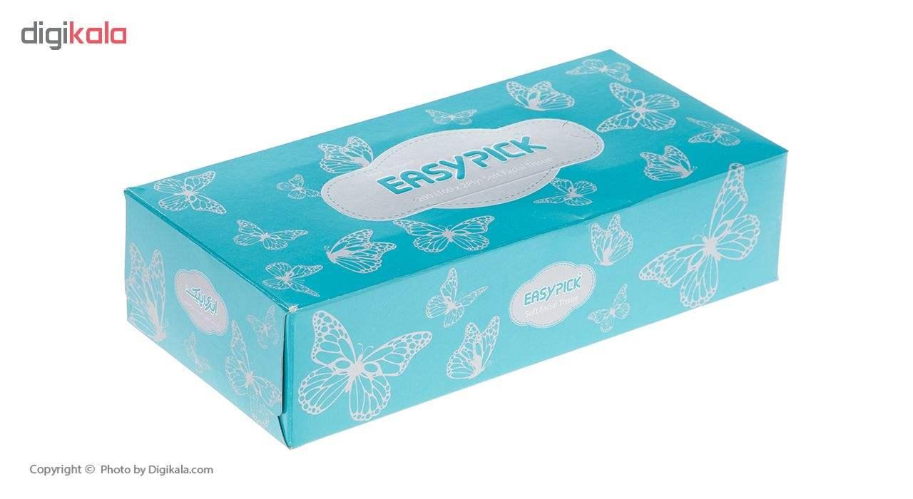 دستمال کاغذی 100 برگ ایزی پیک مدل Butterfly بسته 4 عددی main 1 8