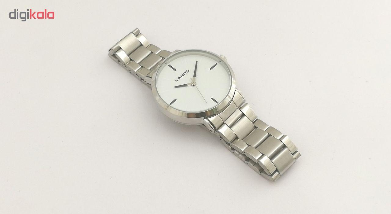 کد تخفیف                                      ساعت مچی عقربه ای مردانه لاروس مدل 1117-80141