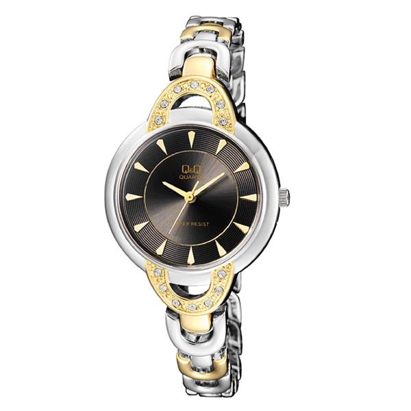 ساعت مچی عقربه ای زنانه کیو اند کیو مدل F545J402Y
