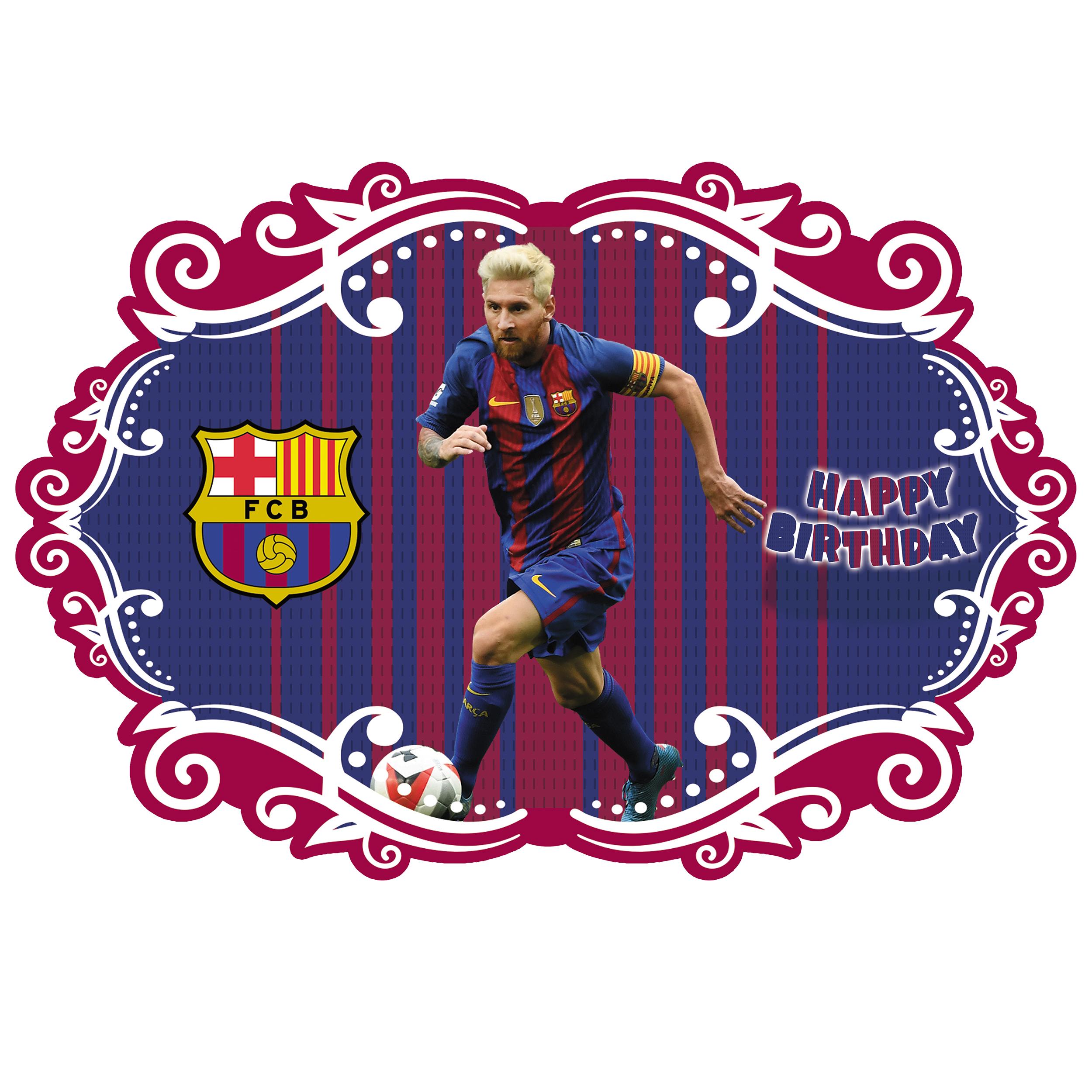 عکس بنر تم تولد طرح بارسلونا کد 1105