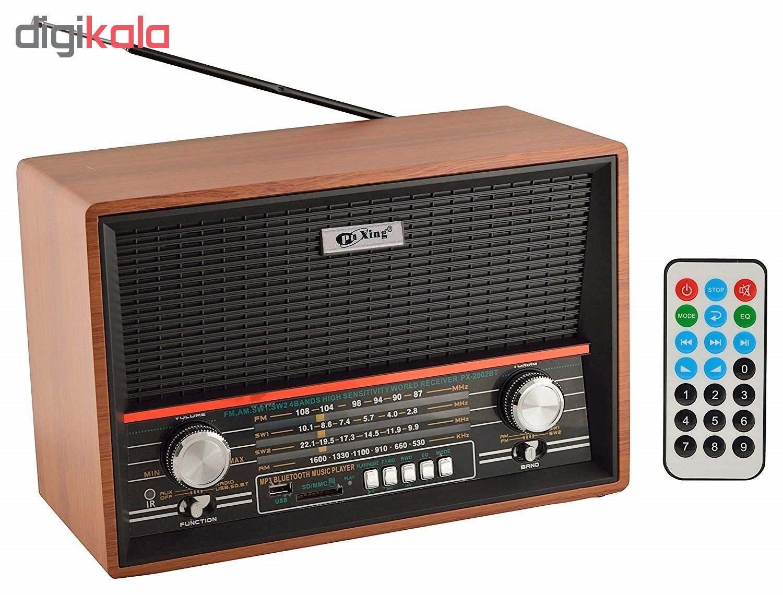 رادیو پوکسین مدل PX-2002BT main 1 3