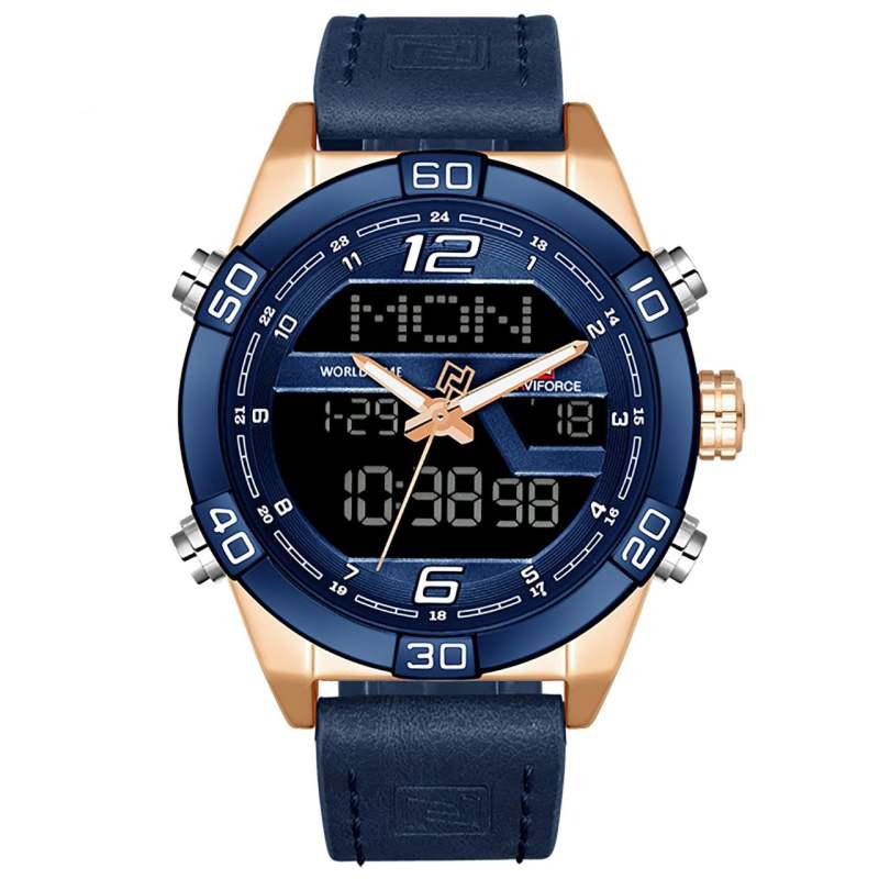 ساعت مچی دیجیتال مردانه نیوی فورس مدل NF9128M / SO 5
