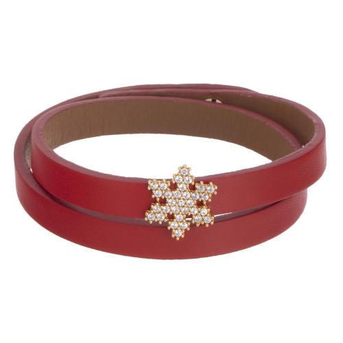 دستبند طلا 18 عیار زنانه تاج درسا مدل 3928