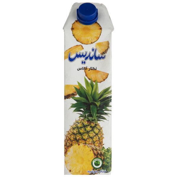 نکتار آناناس ساندیس مقدار 1 لیتر