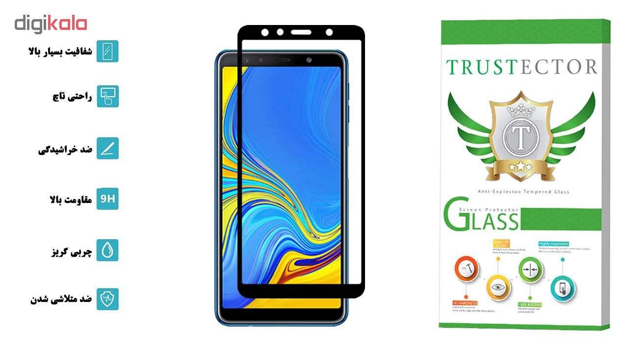 محافظ صفحه نمایش تراستکتور مدل GSS مناسب برای گوشی موبایل سامسونگ Galaxy A7 2018 main 1 2