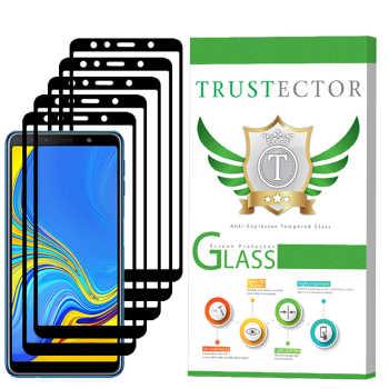 محافظ صفحه نمایش تراستکتور مدل GSS مناسب برای گوشی موبایل سامسونگ Galaxy A7 2018 بسته 5 عددی