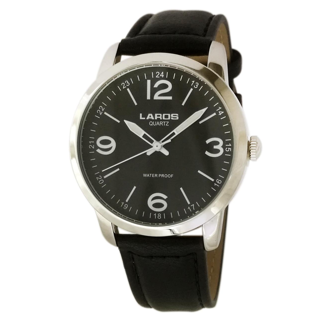 ساعت مچی عقربه ای مردانه لاروس مدل 1117-80153-s