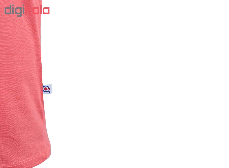 خرید                                      ست تاپ و شلوارک زنانه آکو طرح گربه عکاس کد BG01