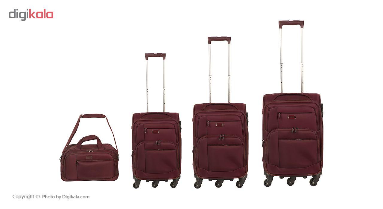 مجموعه چهار عددی چمدان پرستیژ مدل LA 015