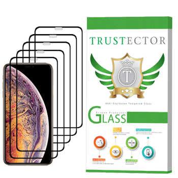 محافظ صفحه نمایش تراستکتور مدل GSS مناسب برای گوشی موبایل اپل iPhone XS Max بسته 5 عددی