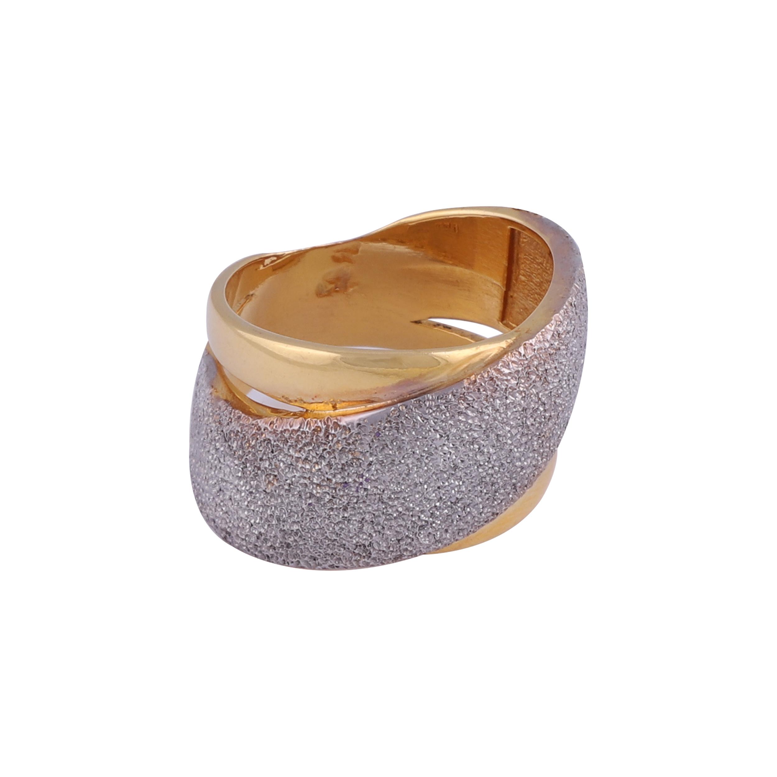 قیمت انگشتر طلا 18 عیار زنانه گوی گالری کد G366