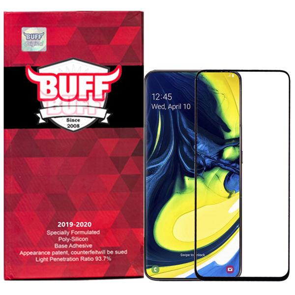 محافظ صفحه نمایش 5D بوف مدل F33 مناسب برای گوشی موبایل سامسونگ Galaxy A80