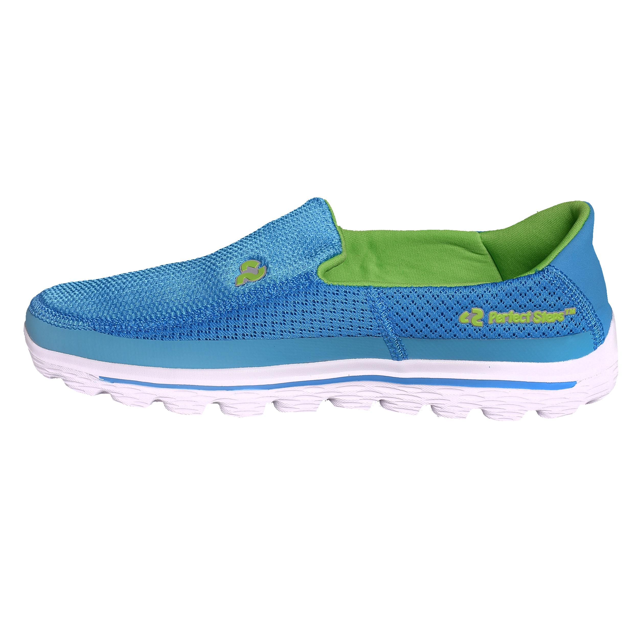 کفش مخصوص پیاده روی زنانه پرفکت استپس مدل اسکای کد 1770 رنگ آبی