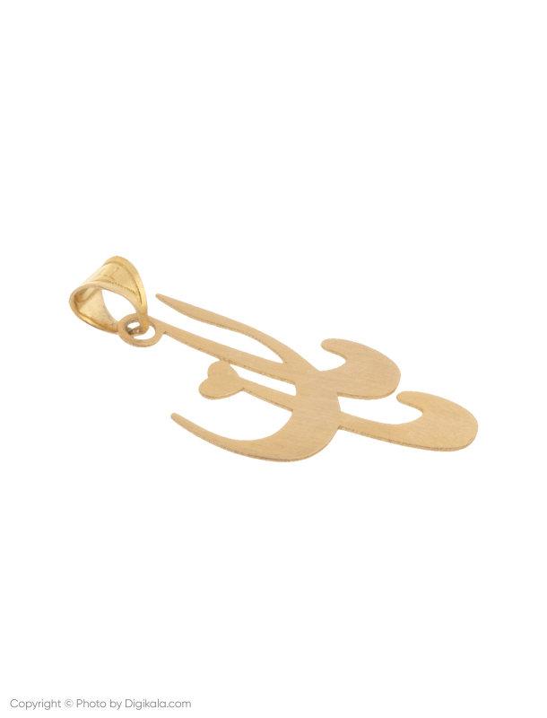 آویز گردنبند طلا 18 عیار زنانه میو گلد مدل N130