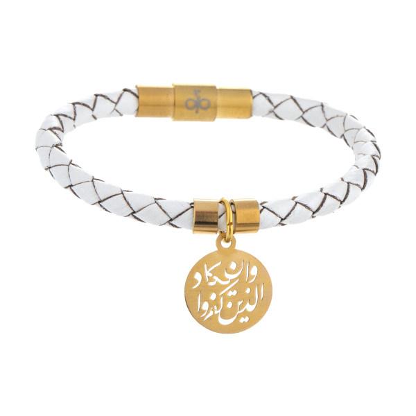 دستبند طلا 18 عیار دخترانه میو گلد مدل BW102