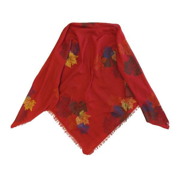 روسری سروین طرح برگ  کد SBA104