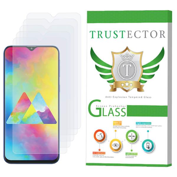 محافظ صفحه نمایش تراستکتور مدل GLS مناسب برای گوشی موبایل سامسونگ Galaxy M20 بسته 5 عددی