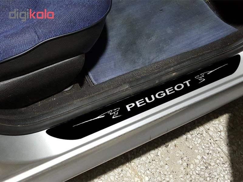 برچسب پارکابی خودرو مدل S304 مناسب برای پژو main 1 1