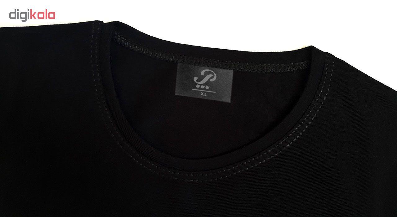ست تی شرت و شلوار مردانه پاتیلوک طرح برزیل کد 400023