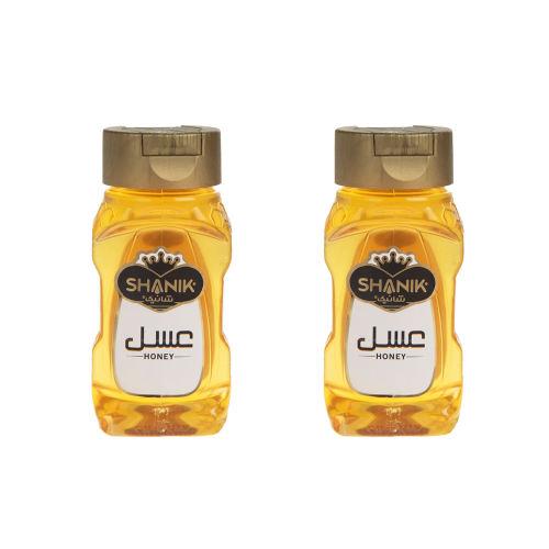 پک عسل ارگانیک شانیک مقدار 350 گرم بسته 2 عددی