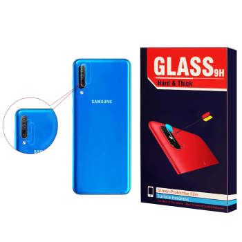 محافظ لنز دوربین Hard and thick مدل F-01 مناسب برای گوشی موبایل سامسونگ Galaxy A70 بسته 2 عددی