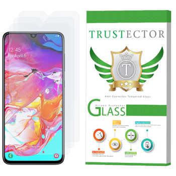 محافظ صفحه نمایش تراستکتور مدل GLS مناسب برای گوشی موبایل سامسونگ Galaxy A70 بسته 3 عددی