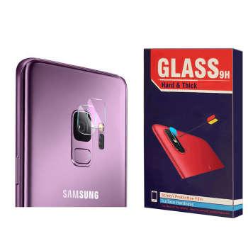 محافظ لنز دوربین Hard and thick مدل F-01 مناسب برای گوشی موبایل سامسونگ Galaxy S9 بسته 2 عددی