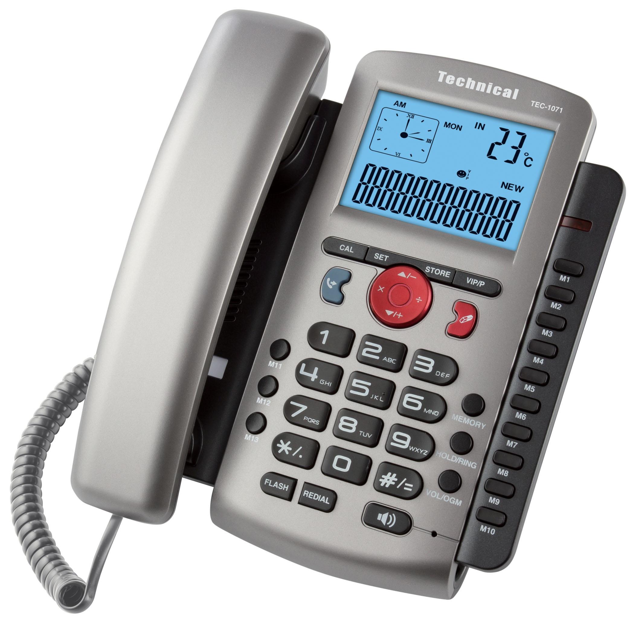 تلفن تکنیکال مدل TEC-1071
