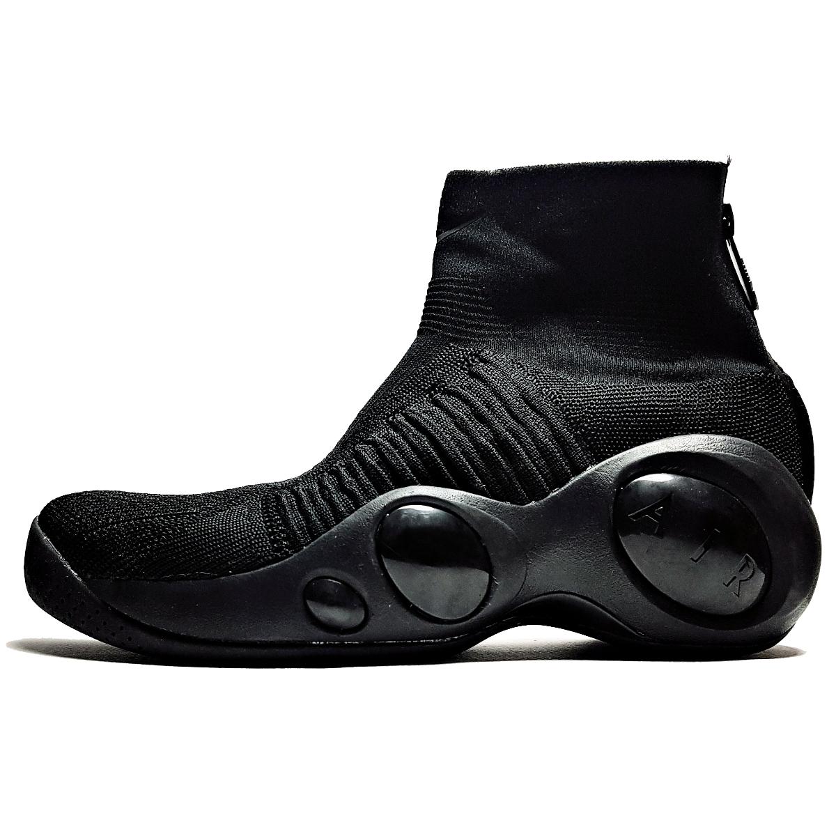 عکس کفش مخصوص پیاده روی مردانه نایکی مدل Nike Flight Bonafide Black