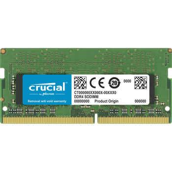 رم لپ تاپ DDR4 دو کاناله 2666 مگاهرتز CL19 کروشیال ظرفیت 16 گیگابایت