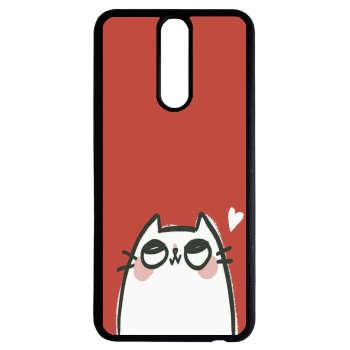 کاور طرح گربه کد 11053904 مناسب برای گوشی موبایل هوآوی mate 10 lite