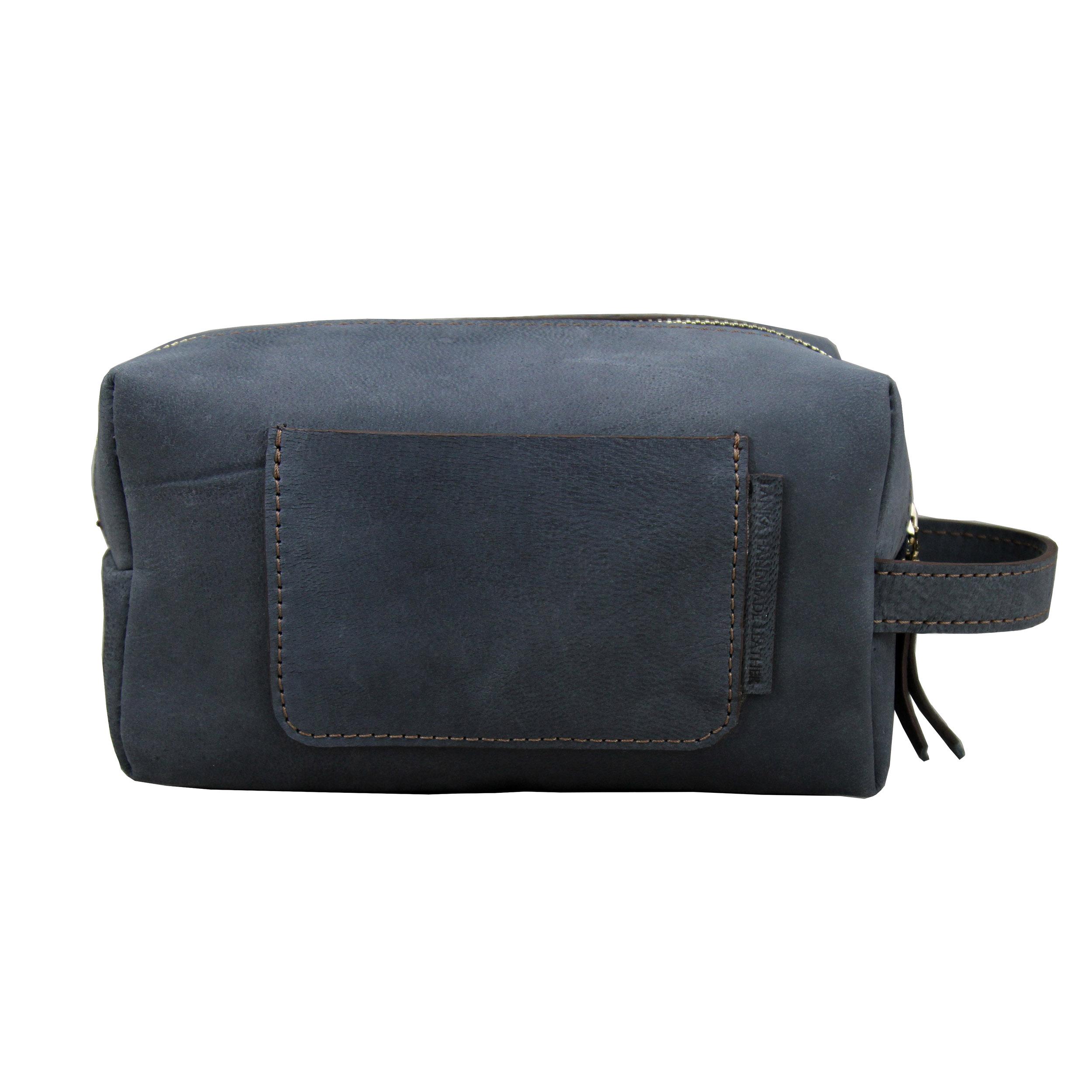 قیمت کیف لوازم آرایش مردانه چرم لانکا مدل CSB-2