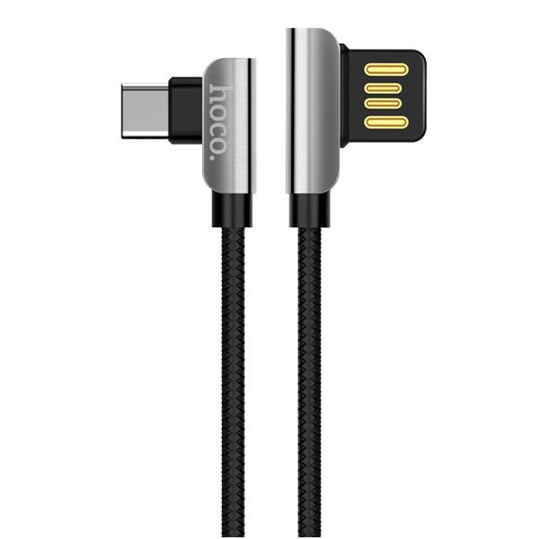 کابل تبدیل USB به USB-C هوکو مدل U42 طول 1.2 متر