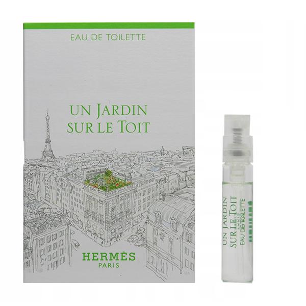 عطر جیبی زنانه هرمس مدل Un Jardin Sur Le Toit حجم 2 میلی لیتر