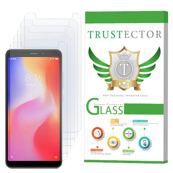 محافظ صفحه نمایش تراستکتور مدل GLS مناسب برای گوشی موبایل شیائومی Redmi 6A بسته 5 عددی