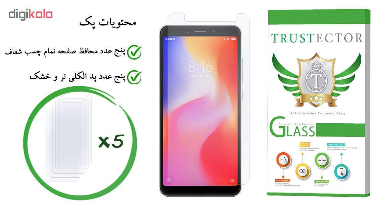 محافظ صفحه نمایش تراستکتور مدل GLS مناسب برای گوشی موبایل شیائومی Redmi 6A بسته 5 عددی main 1 1