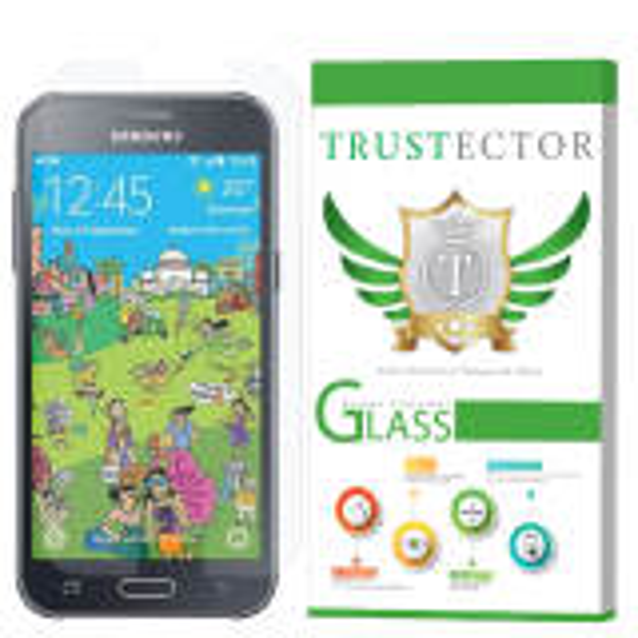 محافظ صفحه نمایش تراستکتور مدل GLS مناسب برای گوشی موبایل سامسونگ Galaxy J2 2015              ( قیمت و خرید)