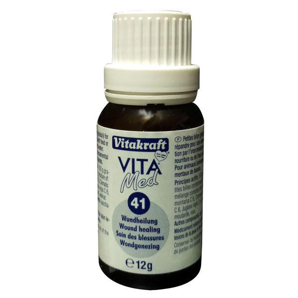 داروی بیماری ها و زخم های پوستی ماهیان آکواریوم ویتاکرافت مدل  A41 وزن 12 گرم