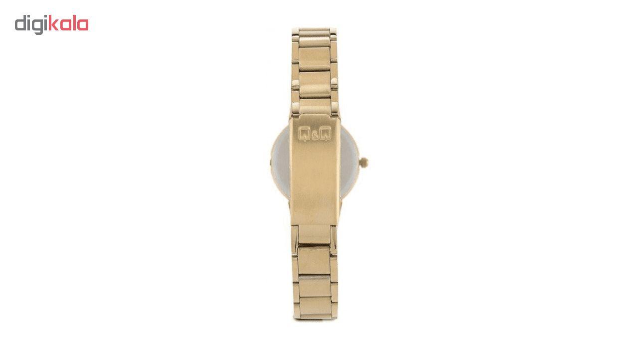 ساعت مچی عقربه ای زنانه کیو اند کیو مدل qa07j010y              ارزان