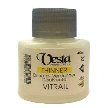 مدیوم حلال ویترای وستا مدل thinner کد40