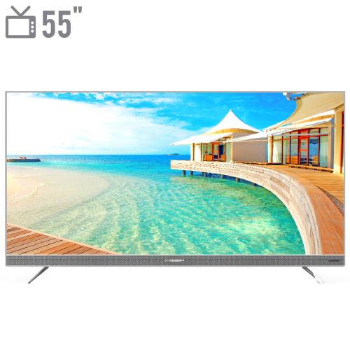 تلویزیون ال ای دی هوشمند ایکس ویژن مدل 55XTU725 سایز 55 اینچ
